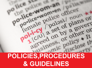 Policies Procedures and Guidelines
