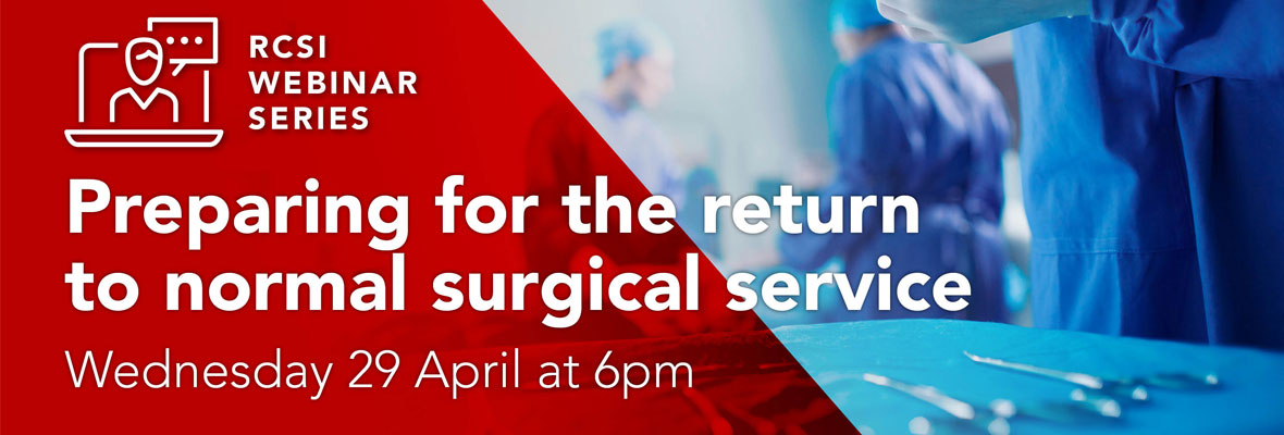 Preparing for the return to normal surgical services