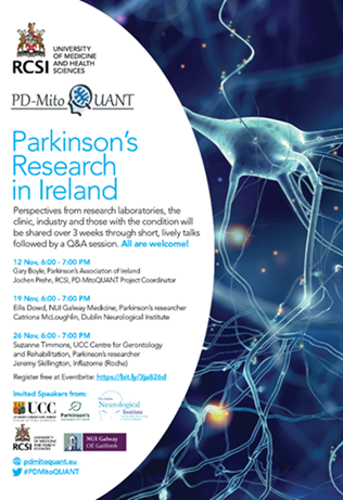RCSI Parkinson's research in Ireland